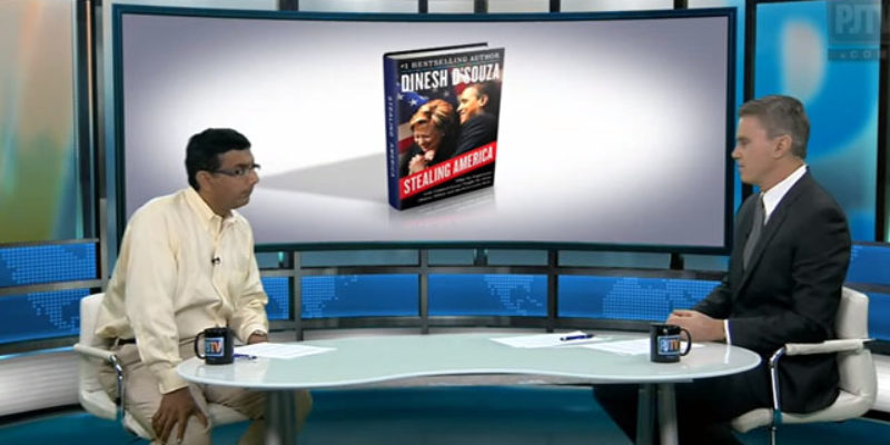"""VIDEO: Dinesh D'Souza Talks With Bill Whittle About His New Book """"Stealing America"""""""