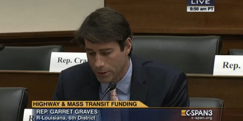 VIDEO: Garret Graves On Traffic In Baton Rouge