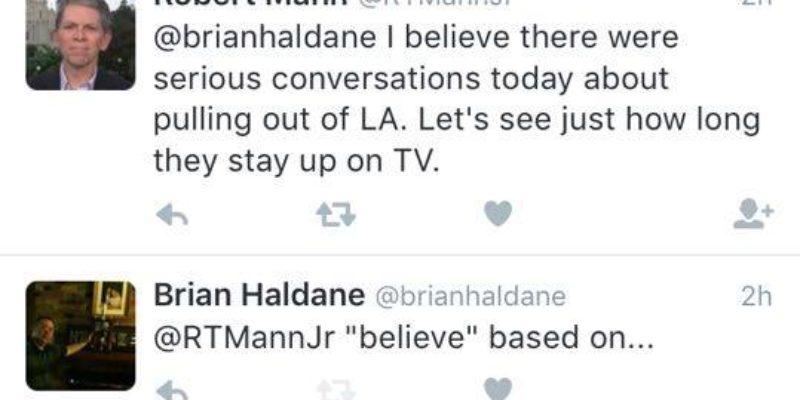 UPDATED: Bob Mann's Suspiciously Inaccurate RGA-Surrender Tweet