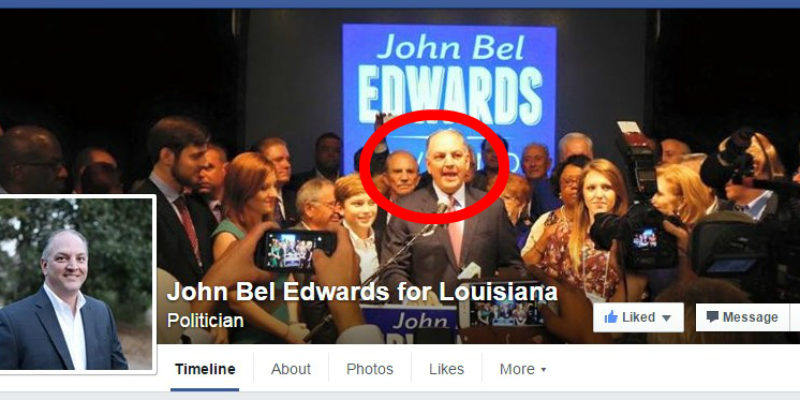 HUDSON: John Bel Edwards' Pro-Life Commitment in Question