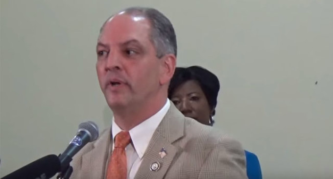 If The Syrian Migrant Issue Matters To Louisiana Voters, John Bel Edwards Has Some Problems