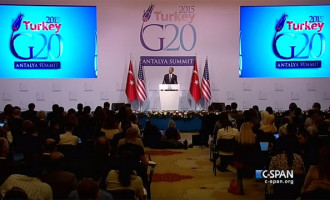 "VIDEO: Here's ""President Indifferent"" Obama's Eye-Popping Press Conference From Turkey"