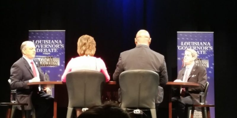 LABI Caught John Bel Edwards In Tonight's Debate Saying He'd Never Voted To Increase Taxes On Business, And Was Not Amused
