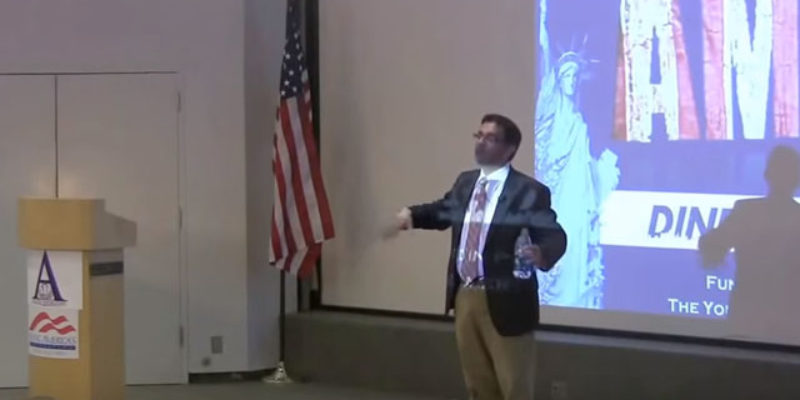 VIDEO: It Is Unwise For Leftists To Challenge Dinesh D'Souza To A Theoretical Debate