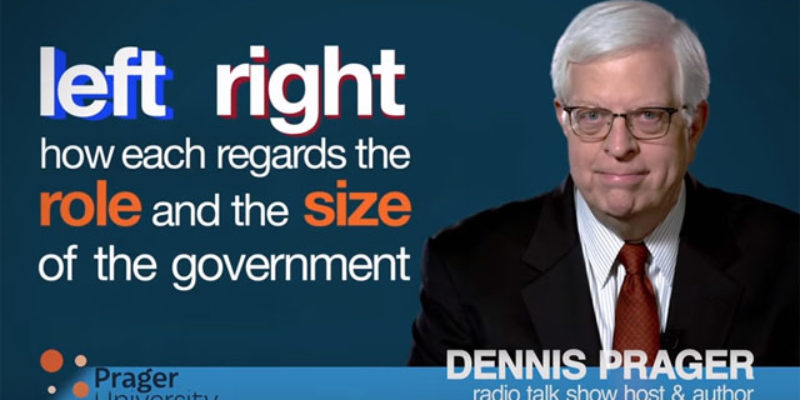 PRAGER U: How Big Should Government Be?