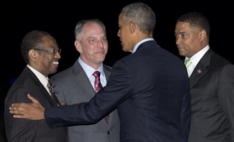 LOVE FEST: President Obama's Baton Rouge Speech Was An Homage To John Bel Edwards
