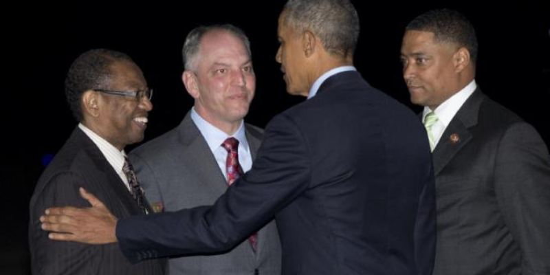 LOVE FEST: President Obama's Baton Rouge Speech Was An Homage To John Bel Edwards