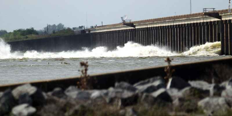 Closed for Business, Morganza Spillway Not Opening Anytime Soon