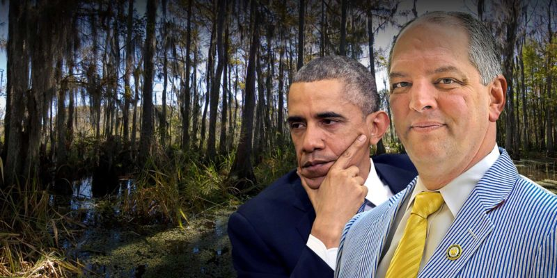 President Obama Is Coming To Baton Rouge To Tell Us How Much He Loves John Bel Edwards