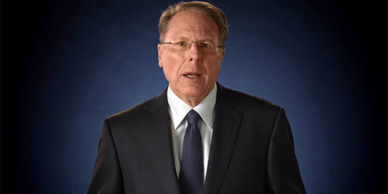 Wayne LaPierre Was Less Than Impressed With Obama's Gun-Grabbing Pronouncement Yesterday, And Issues A Retort