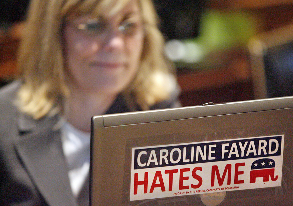 Caroline Fayard Hates Me
