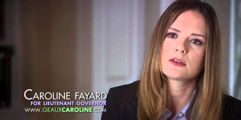 Let's Not Forget Caroline Fayard's Little Campaign-Finance Dry Cleaning Operation Back In 2010