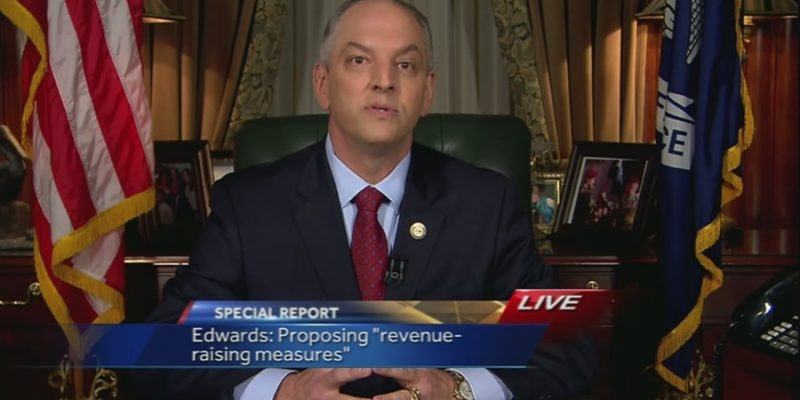BREAKING: John Bel Edwards Already Announces He's Running For Re-Election In 4 Years