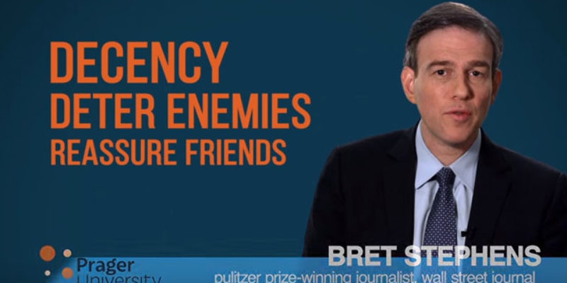 PRAGER U: Crime, Punishment And Foreign Policy
