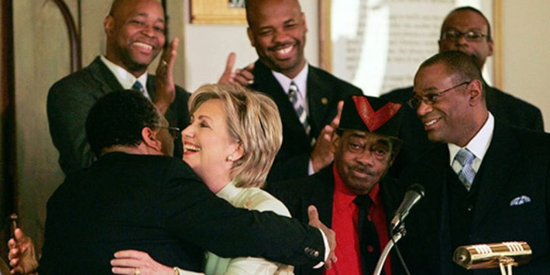 Hillary's Failing Campaign Will Now Pander To Black Voters 24-7 In An Effort To Survive