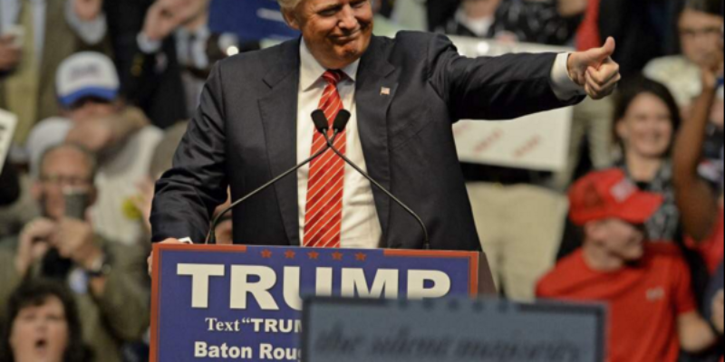 Another Poll Says Trump Is Going To Walk Away With The Louisiana Primary On Saturday