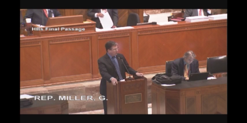 VIDEO: Greg Miller Tries To Change His Vote On The Butterfly Bill Because He Doesn't Like Caterpillars