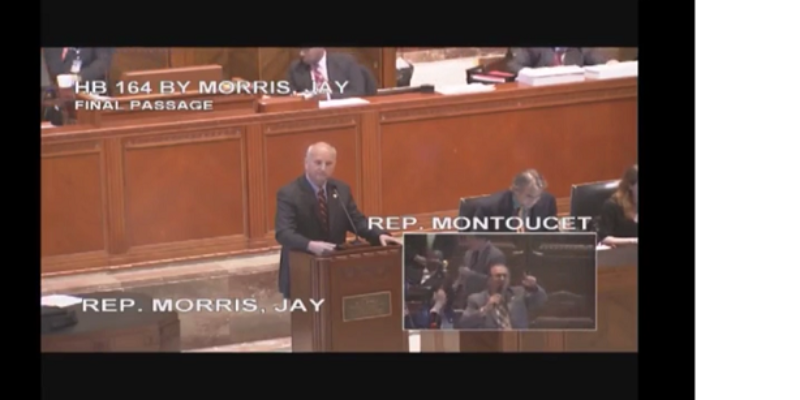 VIDEO: Watch Jay Morris And Jack Montoucet Debate Tramp Stamps On The House Floor