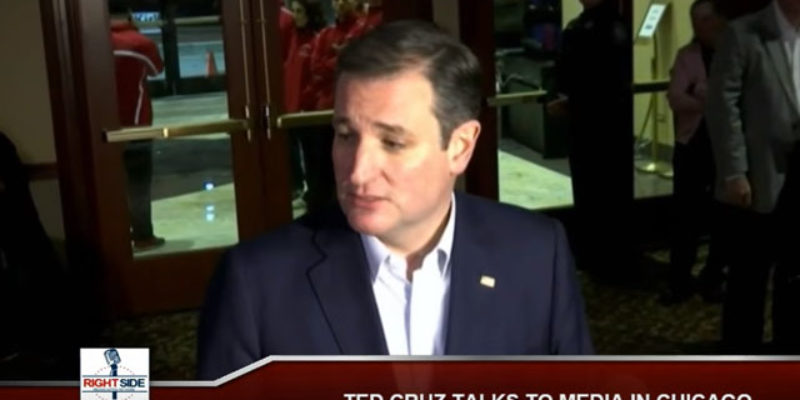 BREAKING: Cruz Is Out
