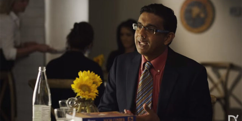 VIDEO: Have You Seen The Trailer For Dinesh D'Souza's Movie About Hillary And The Democrats?