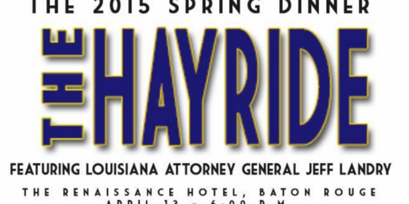 Join Us For The Hayride's First Annual Spring Dinner April 13!