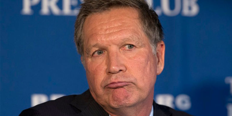Now Kasich Is Out