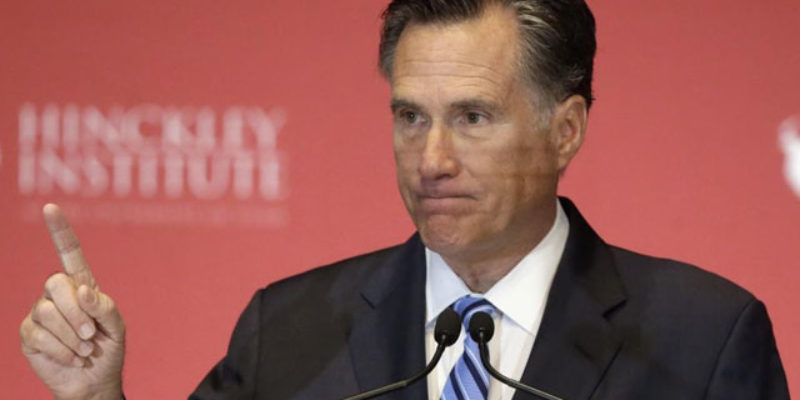 CROUERE: Romney Shows His True Colors In Impeachment Mess