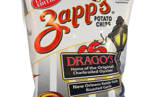 How Does Zapp's Drago's-Style Chargrilled Oyster Potato Chips Sound?