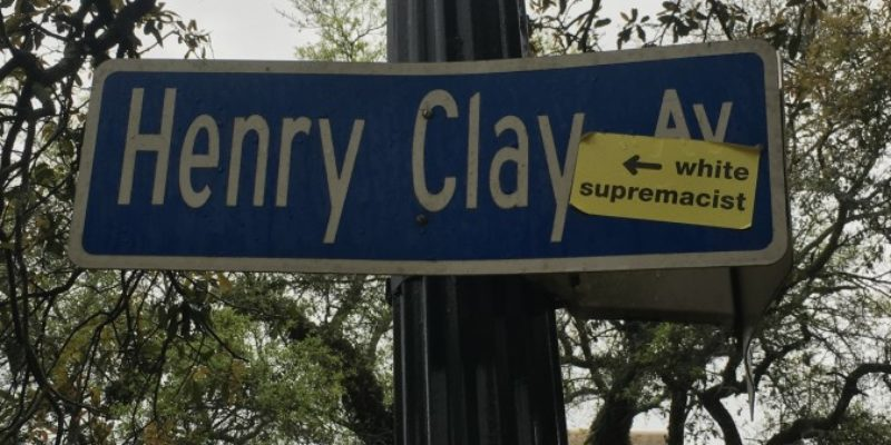 EXCLUSIVE: New Orleans' Historical Street Signs Being Defaced With 'White Supremacy' Vandalism