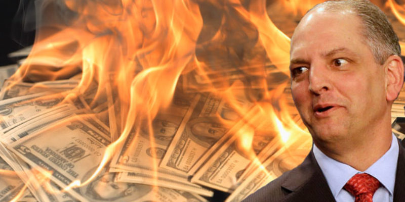 John Bel Edwards's Tax Increases Didn't Raise Enough Money So More Cuts Are Coming