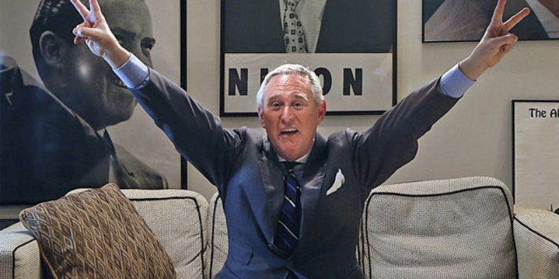 OK, Trump Supporters, Can You Defend Roger Stone's Threat To Expose GOP Convention Delegates' Hotel Room Numbers?