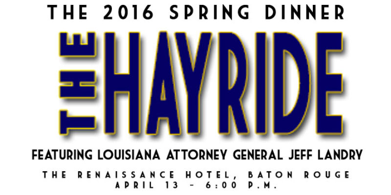 Don't Forget To Register For The 2016 Hayride Spring Dinner!