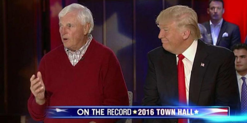 So Donald Trump Has Bobby Knight Tooling Around Supporting Him? How About This Video, Then?