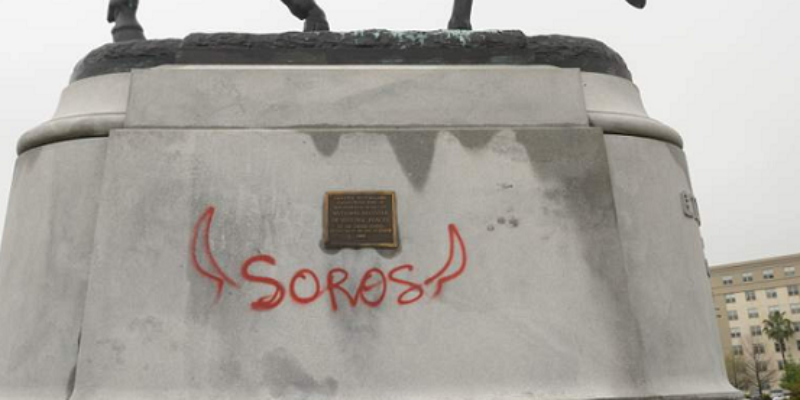 New Orleans Monument Defaced, Then City Throws Money At Clean-Up That Defaces It Even More