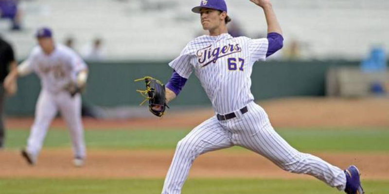 Why Is Jake Latz Getting The Start For LSU Against Tennessee In The SEC Tournament?