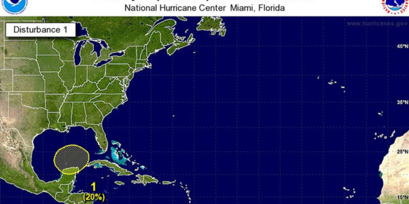 It's Now Hurricane Season, And We Might Soon Have A Hurricane