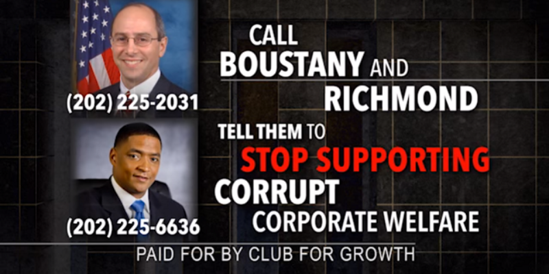 Club For Growth Fires First Salvo Against Charles Boustany, Attacking Him On The Ex-Im Bank