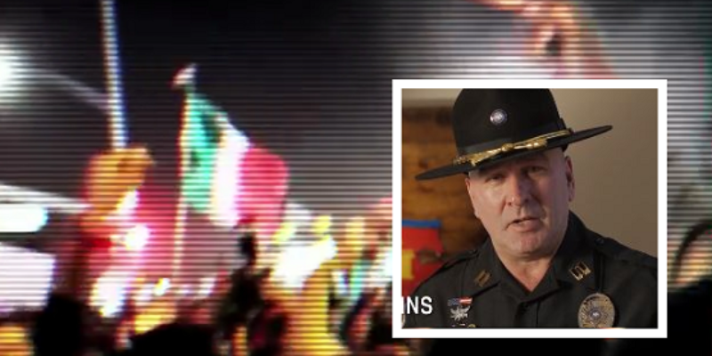 Capt. Clay Higgins Riding Trump Wave, Uses Anti-Trump Mexican Flag Waving Rioters In Latest Ad