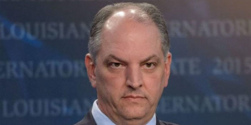 John Bel Edwards Lost The Senate Today, And Here's Why