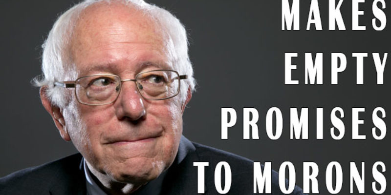 Bernie Sanders And Liz Warren Proved Last Night Why Nobody Should Take Them Seriously