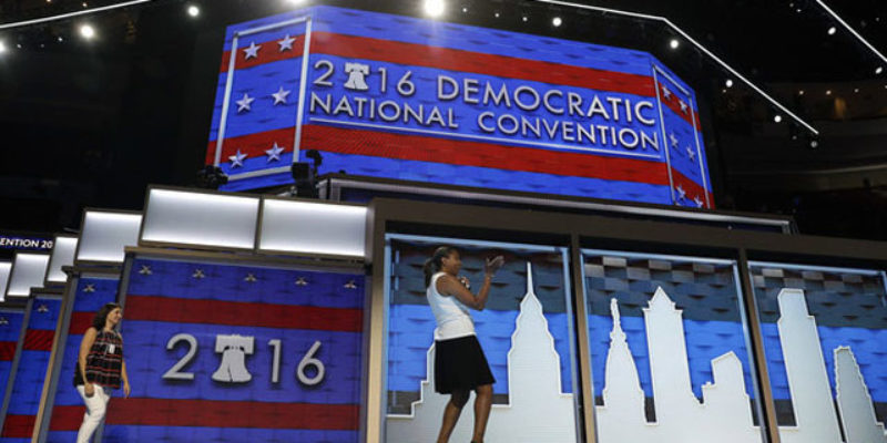 Hey, Y'all Notice That Background Behind The Speakers At The DNC?