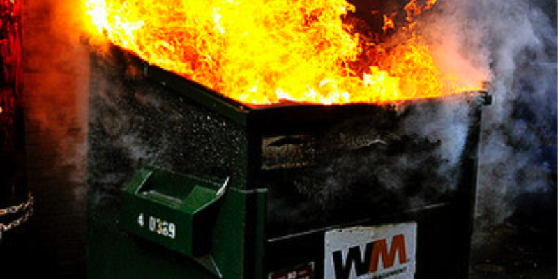 UPDATED: Some Thoughts About The Cleveland Dumpster Fire, Day 1