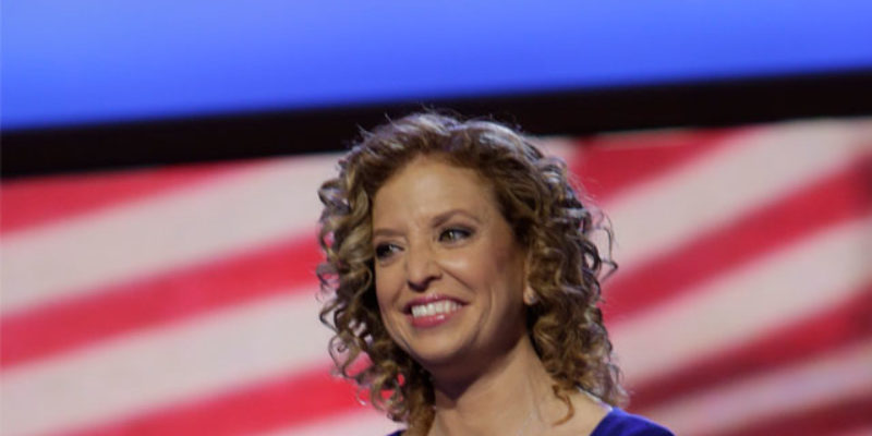 VIDEO: Debbie Wasserman Schultz Gets Booed Off The Stage By The Democrats' Florida Delegation