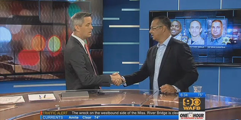 Former BRPD Chief Jeff LeDuff's Appearance On WAFB This Morning Is Required Viewing