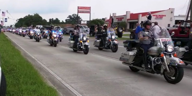 VIDEO: Matthew Gerald's Funeral Procession Was An Amazing Thing