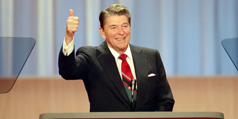 VIDEO: Let's Revisit Ronald Reagan's 1988 Republican Convention Speech, Shall We?