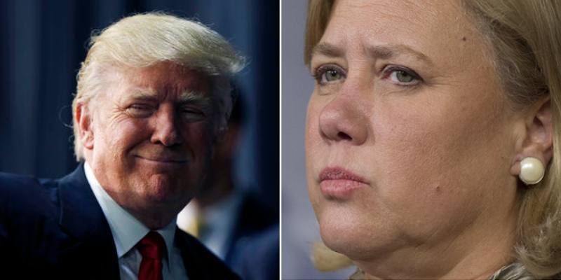 In A Rare Moment, Mary Landrieu Thanks Trump For Louisiana Visit, Throws Shade At Hillary & Obama