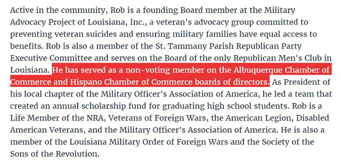 Rob Maness' bio