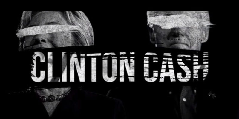 """Watch The Entire """"Clinton Cash"""" Documentary Movie Here"""
