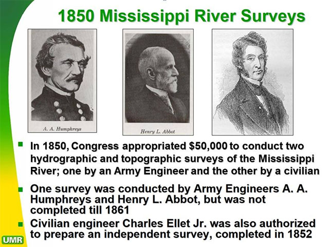 corps of engineers river surveys